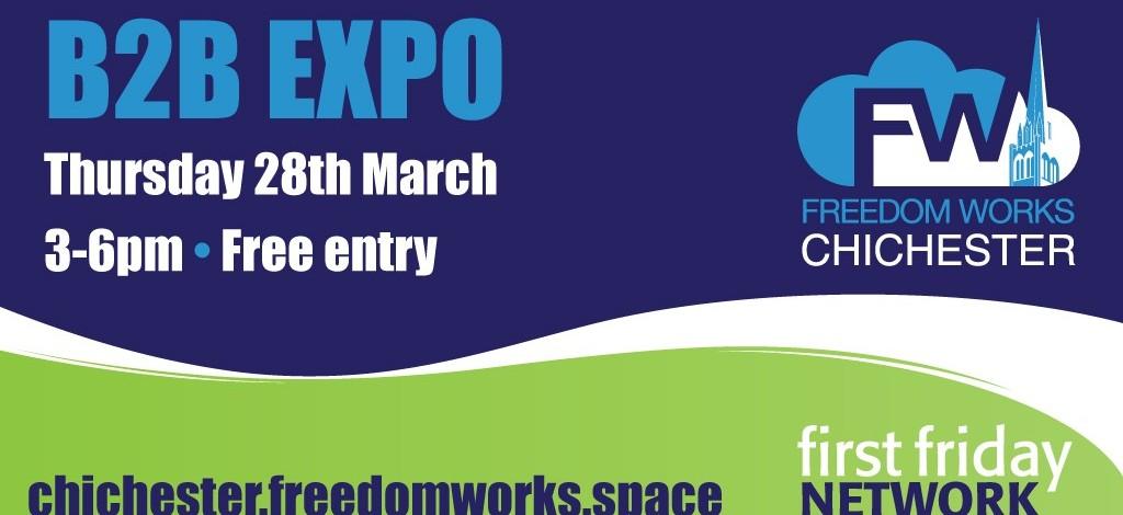 FreedomWorks B2B expo graphic