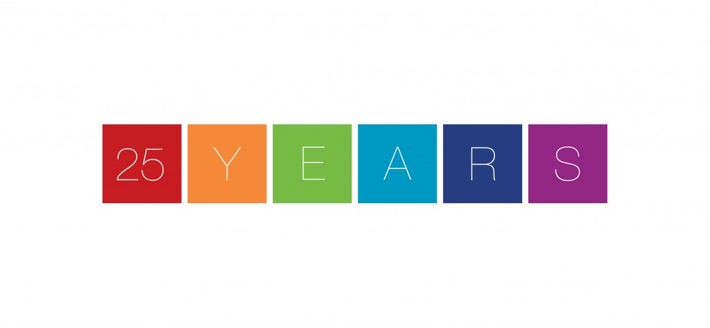 25 years logo for wilson design associates