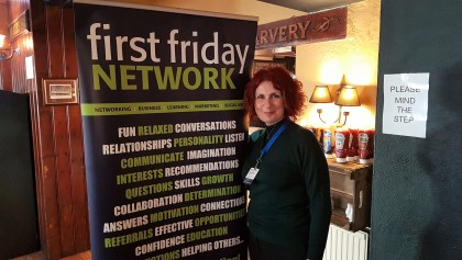 Vanessa Junginger at the Chichester meeting