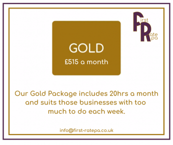 Find out more about how our Gold package can support you and your business.