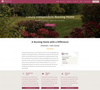 Website copywriting for a nursing home B2C